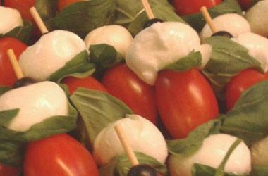 Tomate Mozarella Sticks? Für unseren Partyservice kein Problem!